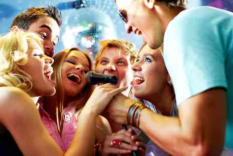 K2 Karaoke Nightclub - Two Hour Karaoke Booth Hire With Drink Each For Ten - Save 81%