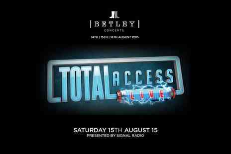Cuffe & Taylor - One VIP Ticket to Total Access Live - Save 40%