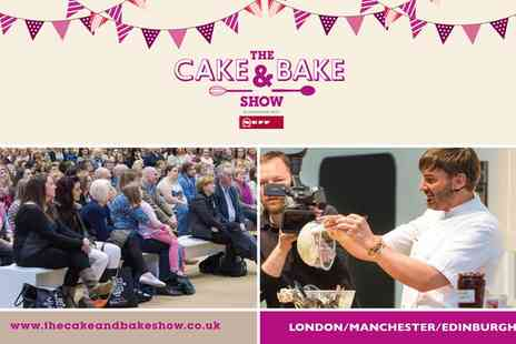 The Cake and Bake Show  - Entry to The Cake & Bake Show - Save 25%