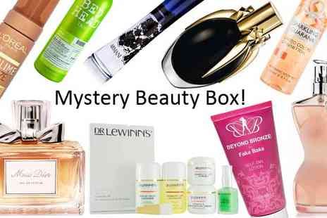 RB Healthcare  - Mighty Mystery Beauty Box  Fake Bake TIGI Miss Dior & More - Save 82%
