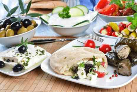 Bouzouki by Night - 15 dish meze to share for Two - Save 0%