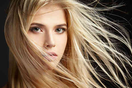Flaunt It - Half head of highlights, cut, conditioning treatment and blow dry with a senior stylist  - Save 63%
