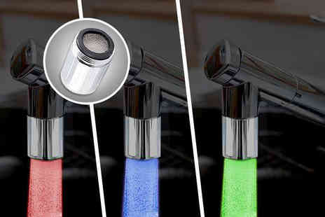 eGlobal Shoppers -  LED colour changing tap head  - Save 0%