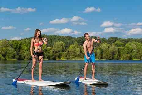 Hire a Canoe - Two hour paddle board hire for two   - Save 68%