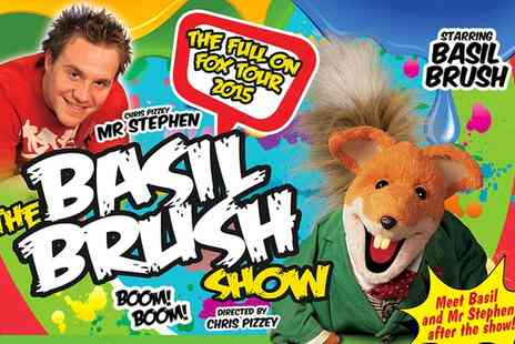 AFA Events - Child or Adult Ticket  to Basil Brush Live - Save 17%
