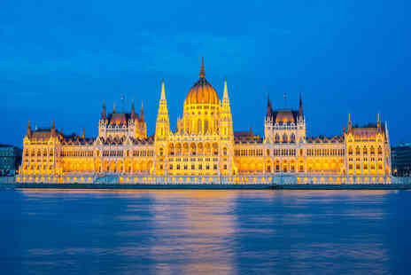 Tour Center - Two, Three or Four night Budapest break with return flights and spa entry - Save 48%