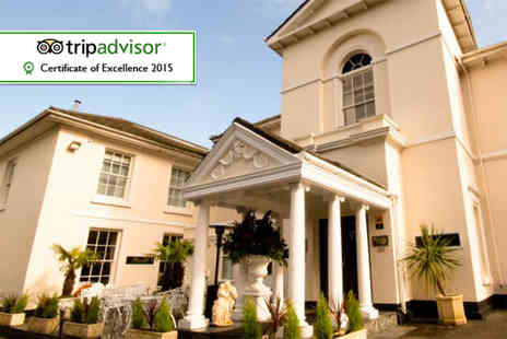 The Penventon Park Hotel - Two night stay for 2 including spa access, breakfast and late check out  - Save 41%