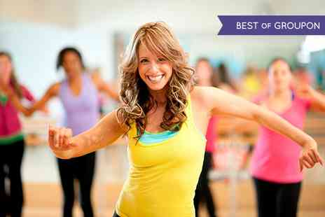 The London Dance Company - Five  Zumba Fitness Classes - Save 75%