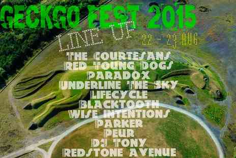 GeckGoFest -  Weekend camping entry to GeckGo Fest 2015 for one - Save 69%