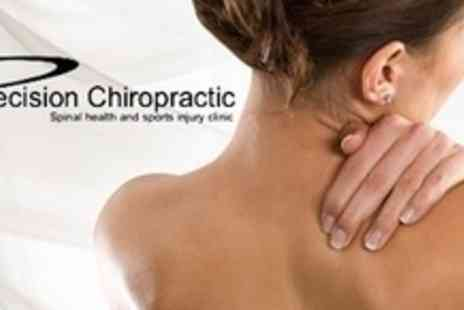 Precision Chiropractic - Chiropractic Consultation With Postural Analysis and Two Treatments - Save 86%