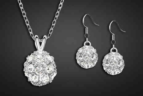 Crazee Trend - Studded Ball Pendant Set - Save 93%