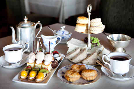 The Hotel Collection - Oxford Afternoon Tea with Sparkling Wine for Two  - Save 33%
