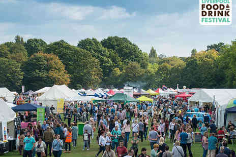 Sefton Park - Two Weekend Tickets to Liverpool Food & Drink Festival - Save 50%