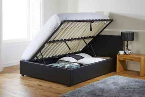 Groupon Goods Global GmbH - Ottoman Storage Bed Frame Free Delivery - Save 44%