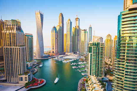 Crystal Travel - Three night Four Star Dubai beach break including breakfast and direct flights - Save 38%