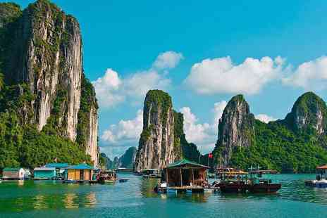 Travel O World - Seven night guided Vietnam tour with international flights, transfers, cruise and meals  - Save 40%