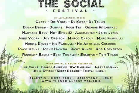 The Social Festival - Tickets to The Social Dance Festival - Save 28%