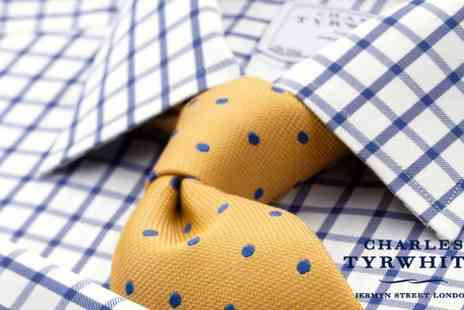 Charles Tyrwhitt - £25 for £50 Spend Towards Shirts, Suits and Casual Attire Online  - Save 50%