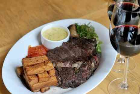 Truc vert - Beef Ribs With Chips and Wine For Two  - Save 57%
