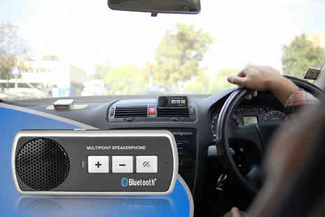 eGlobal Shoppers - Bluetooth car speaker kit - Save 77%
