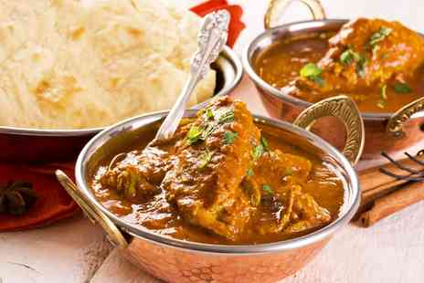 Angra Indian Restaurant - Indian Meal With Rice or Naan For Two  - Save 67%