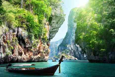Board a Boat - Eight Day stay with  Full Board Phuket Catamaran Cruise - Save 22%