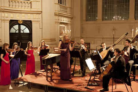 London Concertante - London Concertante Vivaldi and Bach Concertos by Candlelight - Save 37%