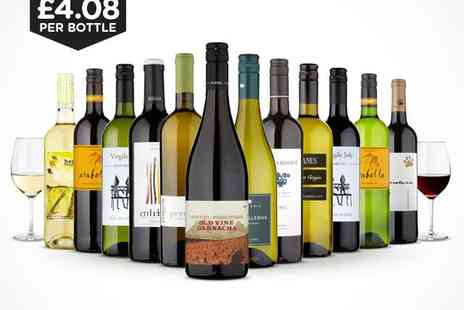 Naked Wines - 12 Bottle Mixed Case of Wine - Save 59%