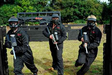 Bedlam Paintball - Group Experience of Paintball - Save 89%