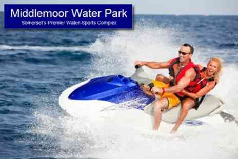 Middlemoor Waterpark - Choice of Waterskiing, Jetskiing and Wakeboarding For One or Two People for £35 - Save 56%