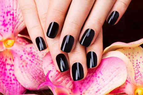 D Hair And Beauty Box - Shellac manicure or pedicure - Save 52%