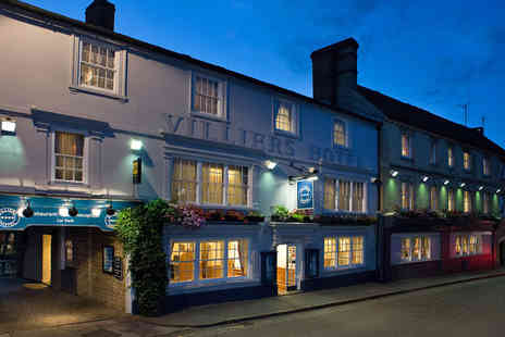 Villiers Hotel - Four Star Buckingham Coaching Inn with AA Rosette Restaurant - Save 0%