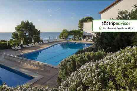 KPX Travel - Two night  Costa Brava spa break including Champagne, breakfast and return flights - Save 54%