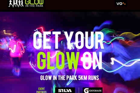 Glow In The Park - Glow In the Park 5K Run  - Save 49%
