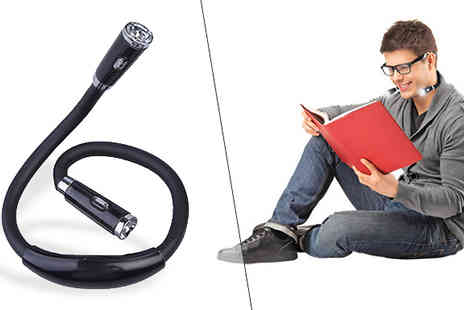 Hungry Bazaar - Flexible LED Reading Light - Save 50%