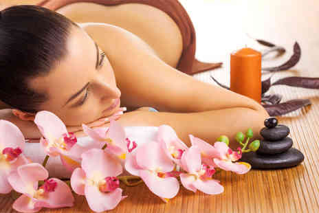 London Ladies - Choice of massage and a facial including chocolates and a hot drink   - Save 78%