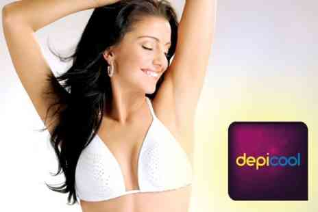 DepiCool - Six IPL hair reduction sessions - Save 94%