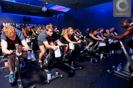 Cyclebeat -20 Days  Indoor Cycle Fitness Classes - Save 68%