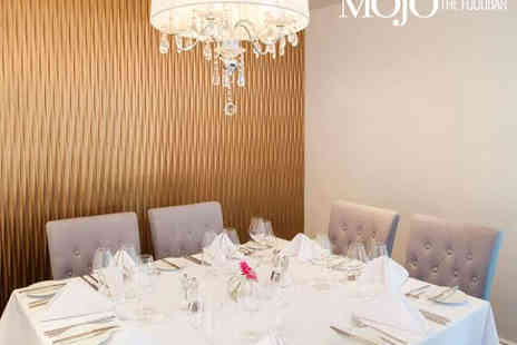 Mojo The Food Bar - Two Course Lunch and Cocktail Each for Two  - Save 0%