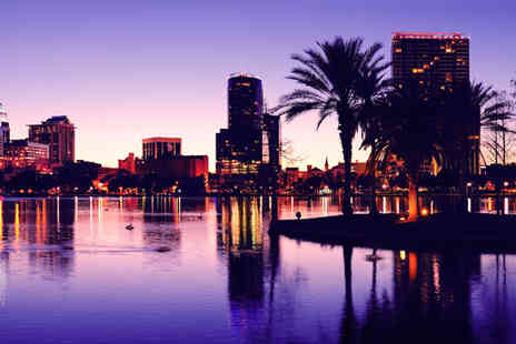 Worldwide Tours and Travel - Seven night Orlando Stay with Car Hire, Flights pluis Eat & Play Card - Save 14%