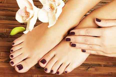 Pedicure Plus - Deluxe Pedicure and Manicure - Save 54%