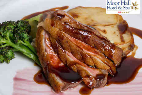 The Oak Room Restaurant - Starter, Main Course, and Dessert for Two - Save 43%