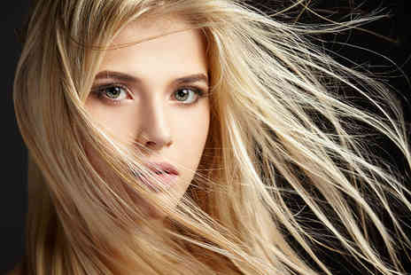 Amelias Hair & Beauty  - Hair cut, half head of highlights or full head of colour plus shampoo, blowdry and style   - Save 74%