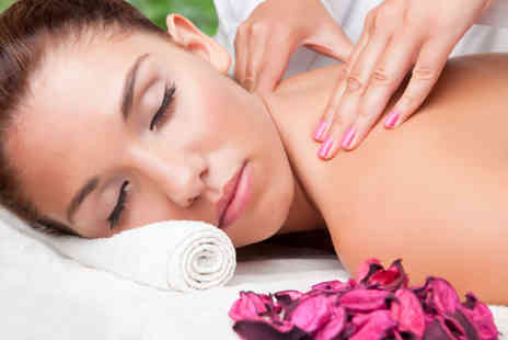 Amber Hair and Beauty - Choice of one hour massage  - Save 53%