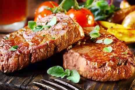 The Buck Inn - Two Course Steak Meal for Two  - Save 42%