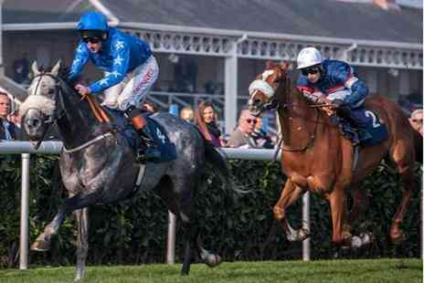 Bath Racecourse - Hospitality admission for a family of three on 13th September  - Save 27%