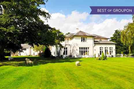 The Llyndir Hall Hotela - One or Two Nights stay For Two With Breakfast and Spa Access - Save 0%