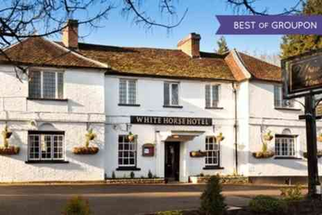 The White Horse Hotel - One or Two Nights Stay For Two With Breakfast and Dinner  - Save 53%