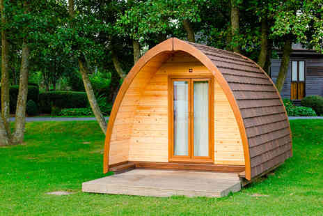 Verdant Leisure  - Two night Northumberland pod camping stay for two - Save 0%