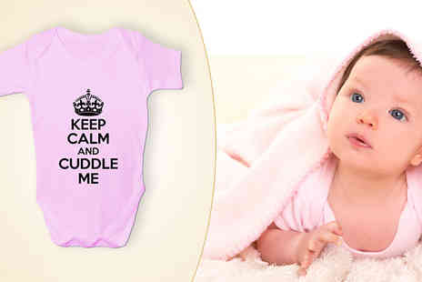 BangTidyclothing - Pack of 3 Baby Grows - Save 28%